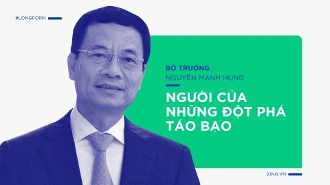 Bo truong Nguyen Manh Hung, tu lenh cua nhung dot pha hinh anh 2