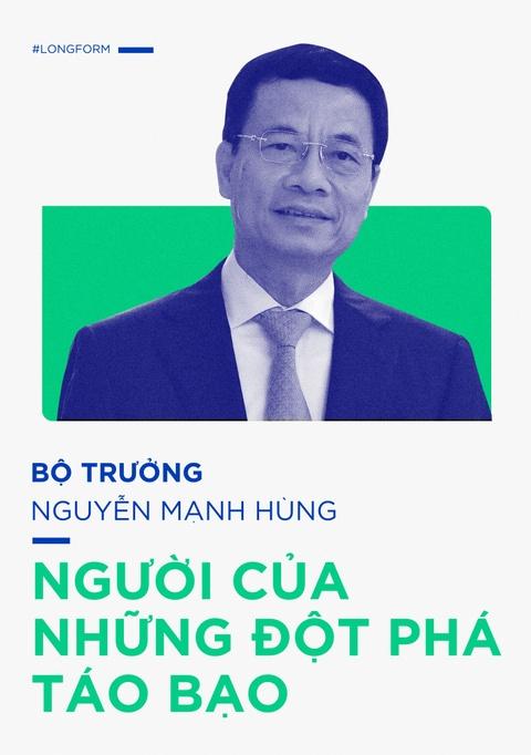 Bo truong Nguyen Manh Hung, tu lenh cua nhung dot pha hinh anh 1