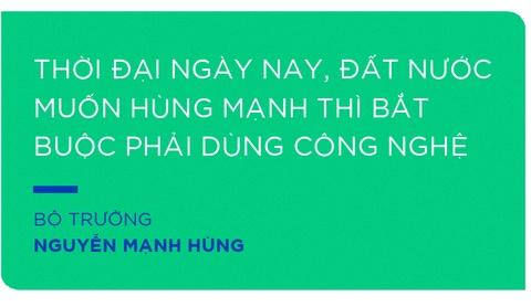 Bo truong Nguyen Manh Hung, tu lenh cua nhung dot pha hinh anh 9