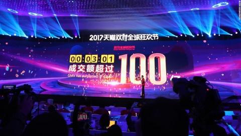 Alibaba kiem 1 ty USD chi trong 85 giay dau tien le Doc than hinh anh