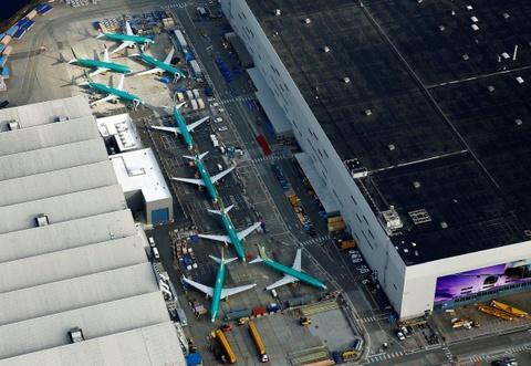 Hinh anh Boeing 737 Max chat dong trong cac kho bai hinh anh 10