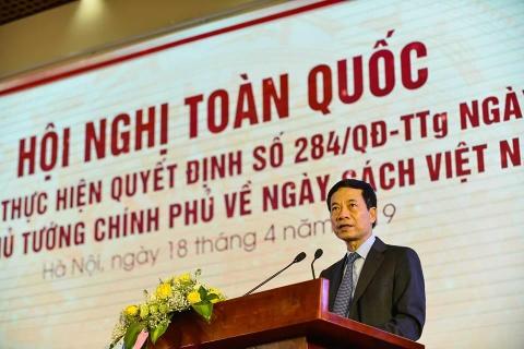 'Ngay sach Viet Nam' chan hung net dep van hoa lau doi hinh anh 1