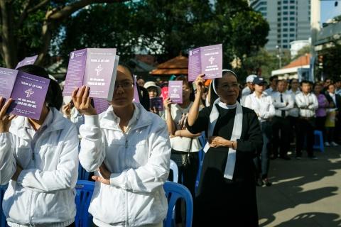 An tang co Tong giam muc Bui Van Doc trong nha nguyen co o Sai Gon hinh anh 2
