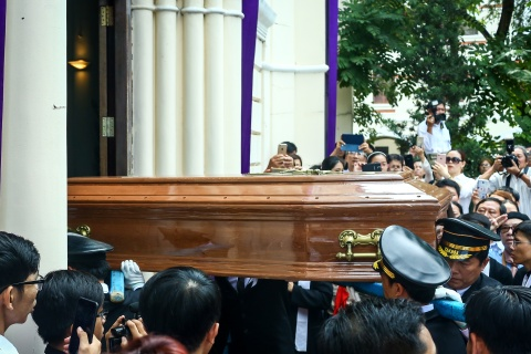 An tang co Tong giam muc Bui Van Doc trong nha nguyen co o Sai Gon hinh anh 11