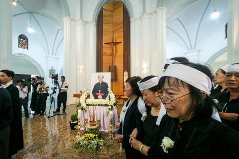An tang co Tong giam muc Bui Van Doc trong nha nguyen co o Sai Gon hinh anh 13