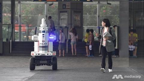 Singapore su dung robot tuan tra cho hoi nghi cap cao ASEAN hinh anh