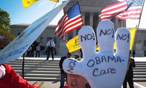 Tham phan lien bang My tuyen bo Obamacare vi hien hinh anh