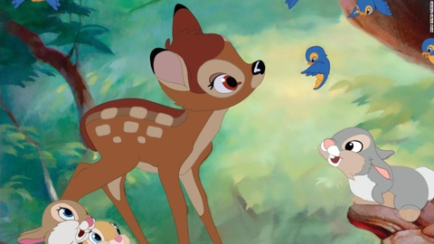 Săn trộm hươu, bị ở tù và phải xem hoạt hình Bambi mỗi tháng