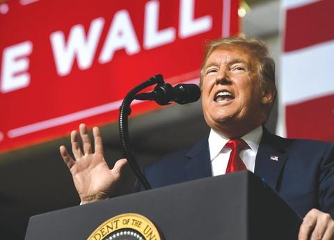 16 bang kiện TT Trump vì ra lệnh khẩn cấp để xây tường biên giới