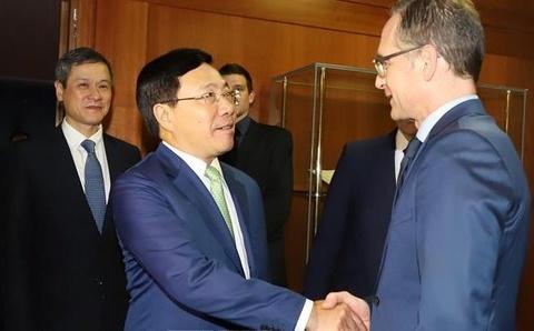 Đưa quan hệ đối tác chiến lược Việt Nam - Đức phát triển sâu rộng