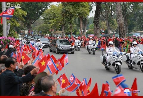 Chuyen tham Viet Nam cua ong Kim Jong Un qua goc may KCNA hinh anh 1