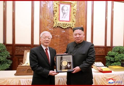 Chuyen tham Viet Nam cua ong Kim Jong Un qua goc may KCNA hinh anh 4