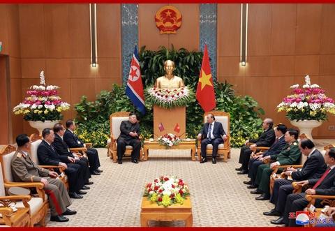 Chuyen tham Viet Nam cua ong Kim Jong Un qua goc may KCNA hinh anh 7