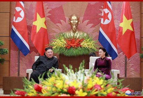 Chuyen tham Viet Nam cua ong Kim Jong Un qua goc may KCNA hinh anh 9
