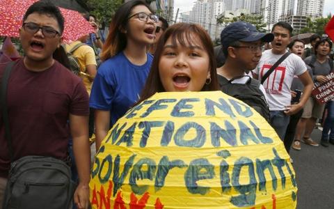 Bau cu Philippines - bai kiem tra giua ky cua ong Duterte hinh anh 10