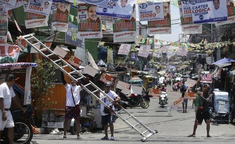 Bau cu Philippines - bai kiem tra giua ky cua ong Duterte hinh anh 2
