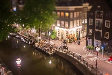 Amsterdam nhu thanh pho do choi duoi ong kinh tilt-shift hinh anh 7