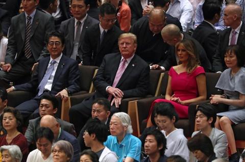 TT Trump khien nguoi Nhat thich thu khi di xem sumo hinh anh 4