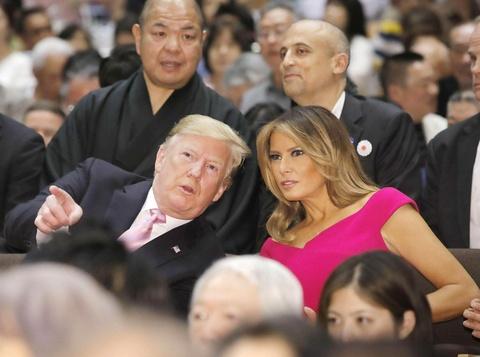TT Trump khien nguoi Nhat thich thu khi di xem sumo hinh anh 5