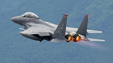 Tiem kich F-15 dua toc do voi nhat thuc hinh anh