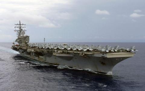 Tìm cách giảm căng thẳng, TQ cho phép tàu sân bay Mỹ thăm Hong Kong