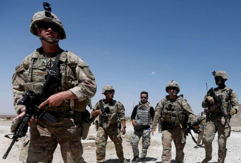 Sau Syria, TT Trump ra lenh rut binh si My o Afghanistan ve nuoc hinh anh