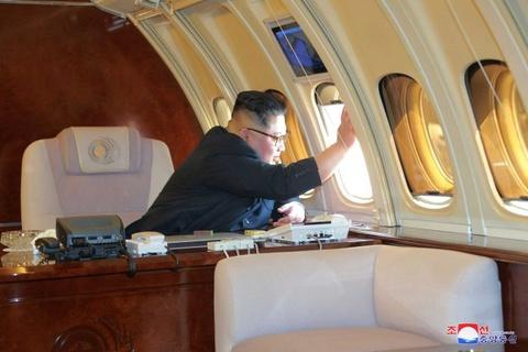 """Kham pha chuyen co 'Air Force Un"""" cua ong Kim hinh anh 1"""