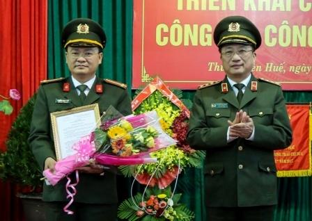 Bi thu doan Bo Cong an lam Pho giam doc Cong an Thua Thien - Hue hinh anh