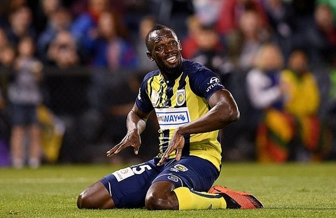 Usain Bolt chinh thuc 'duong ai nay di' voi Central Coast Mariners hinh anh