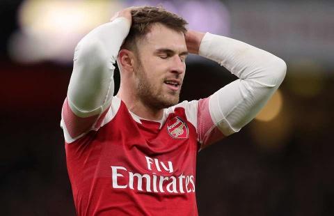 Arsenal va Aaron Ramsey den luc chia tay? hinh anh