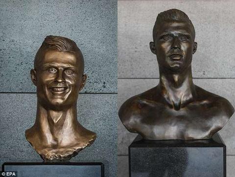 Ghi hattrick an tuong, Cristiano Ronaldo duoc thay tuong moi hinh anh