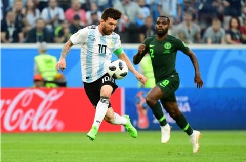 Cham diem Argentina 2-1 Nigeria: Diem 9 cho Lionel Messi hinh anh