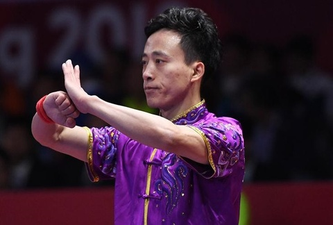 VDV Trung Quoc gianh HCV dau tien o ASIAD 18 hinh anh