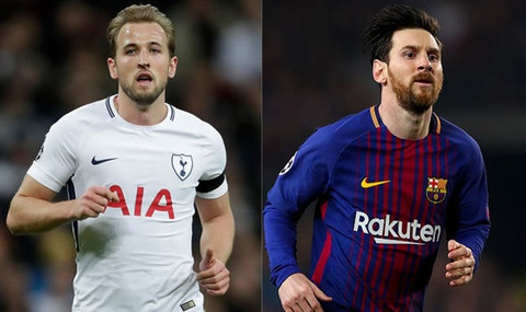 Harry Kane muon ghi ban nhieu hon Lionel Messi hinh anh