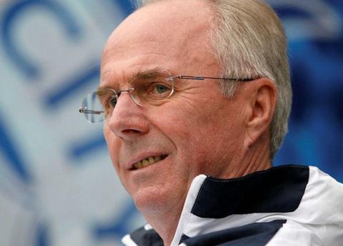 HLV Eriksson quyết đánh bại Thái Lan để chiếm ngôi đầu