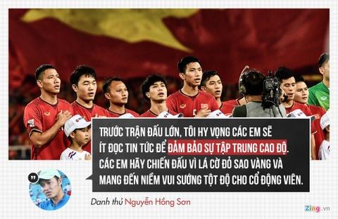 Tuyen Viet Nam nhan loi chuc chien thang tu cac HLV, cuu cau thu hinh anh 5