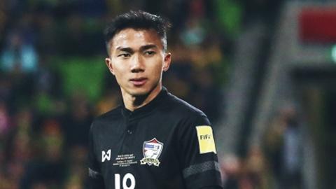 Qua bong vang Thai tu tin gianh 3 diem trong tran dau tai Asian Cup hinh anh