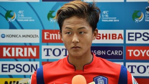 Cau thu lo La Masia bat ngo duoc du Asian Cup cung tuyen Han Quoc hinh anh