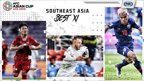 Viet Nam lep ve truoc Thai Lan o doi hinh Dong Nam A tai Asian Cup hinh anh