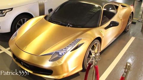 Ferrari 458 Italia ma vang tuyet dep hinh anh