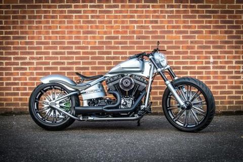 Harley-Davidson mang thiet ke 'an theo' Porsche 918 Spyder hinh anh
