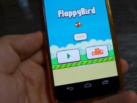 Ngap tran game an theo Flappy Bird chua phan mem doc hai hinh anh