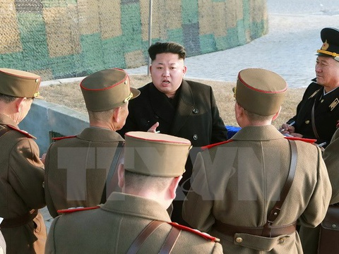 Trieu Tien da thay Tu lenh luc luong phong khong khong quan hinh anh