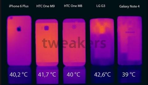 HTC One M9 ban chinh thuc khong he nong hinh anh
