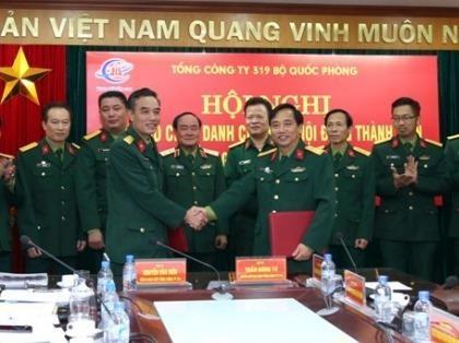 Dai ta Phung Quang Hai thoi chuc o Tong cong ty 319 hinh anh