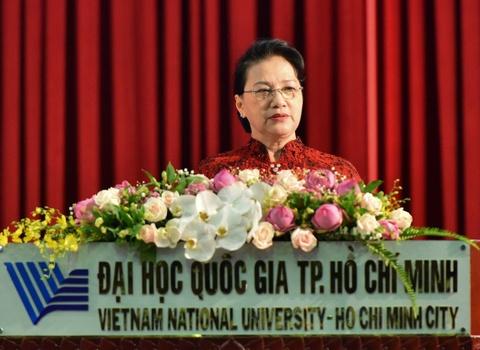 Chu tich Quoc hoi: 'Tu chu dai hoc khong phai tha noi chat luong' hinh anh