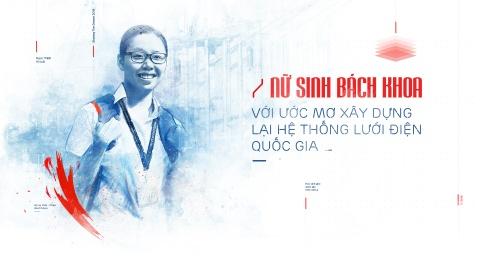 Nu sinh Bach Khoa voi uoc mo xay dung lai he thong luoi dien quoc gia hinh anh 2