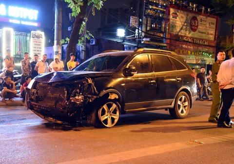 Hien truong vu xe Hyundai tong lien hoan khien nu lao cong tu vong hinh anh 9