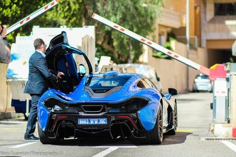 Tay dua Lewis Hamilton mua sieu xe McLaren P1 hinh anh