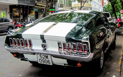 Mustang Fast & Furious hang doc o Sai Gon hinh anh